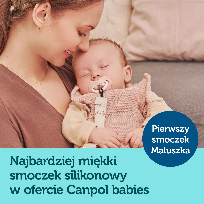 smoczki canpol babies light touch
